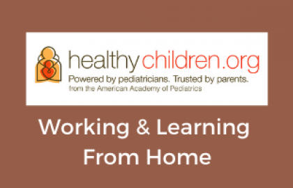Working & Learning from Home