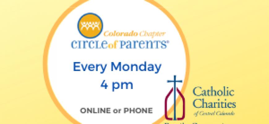 Circle of Parents   Mondays