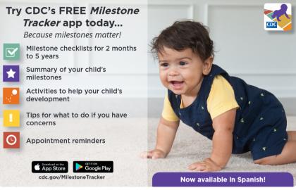 Milestone Tracker App from CDC